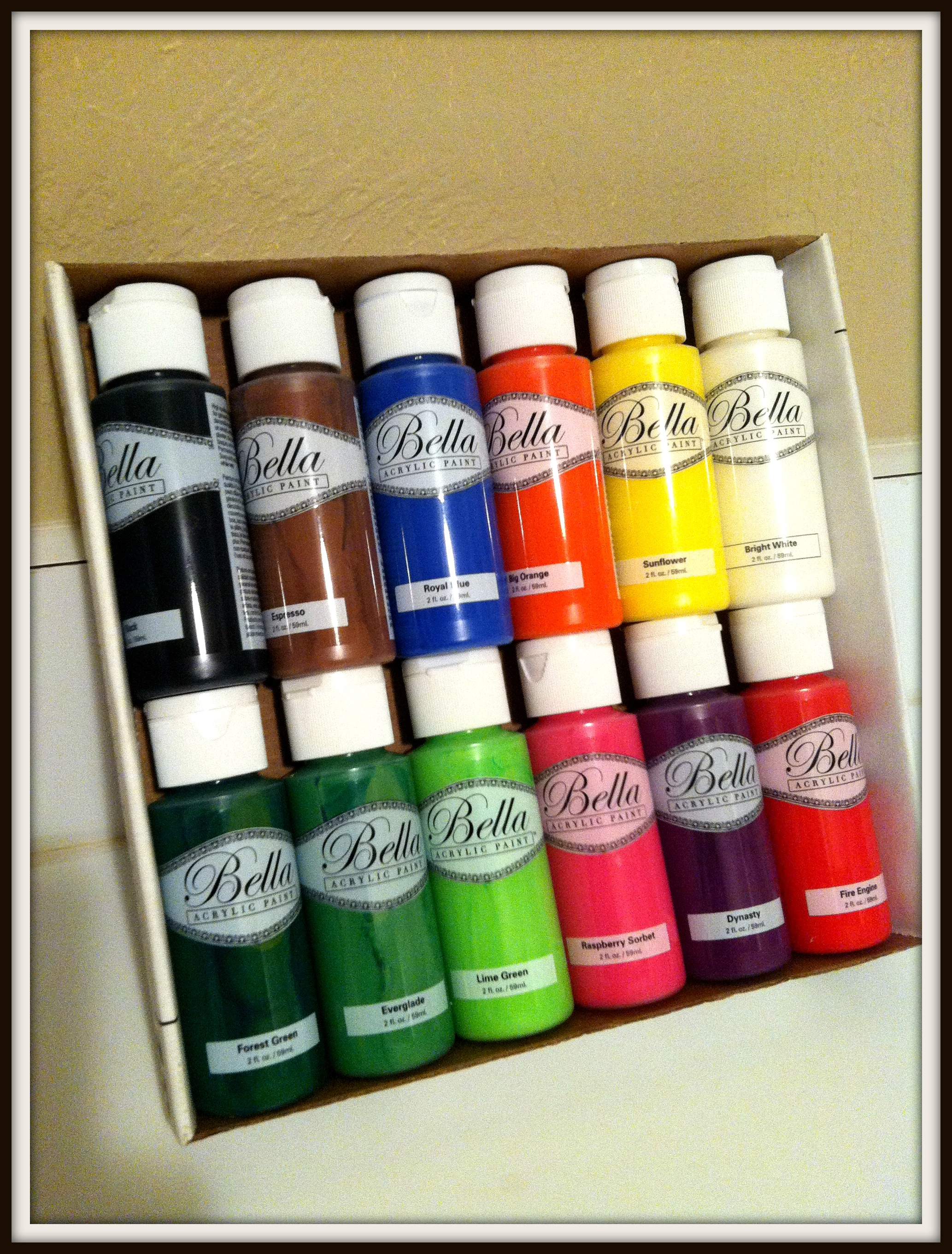 acrylic paint | Life Corked