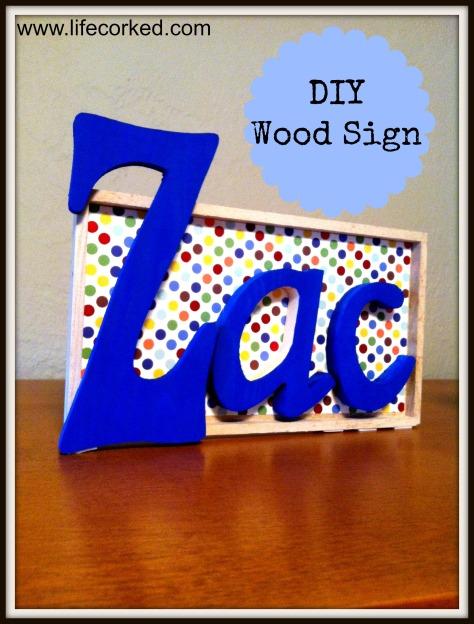 diy wood name signs