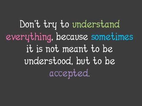 #Acceptance